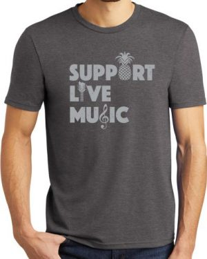 Support Live Music Tshirt
