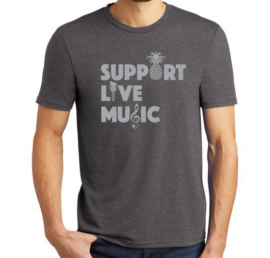 Support Live Music Tshirt
